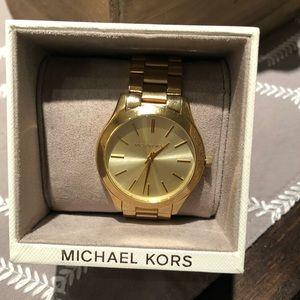 Micheal Kors Gold Watch